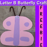 Letter B Butterfly Craft