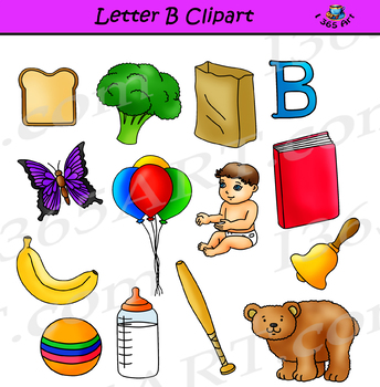 Letter B Clipart – Learning The Alphabets