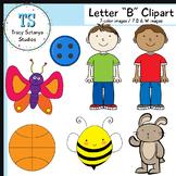 "Letter ""B"" Clipart Set {Tracy Sztanya Studios}"