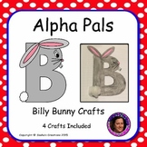 Letter B Craft: Billy Bunny Alpha Pal