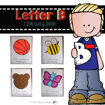 Letter B Craftivity Book