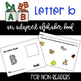 Letter B Cut and Paste Book