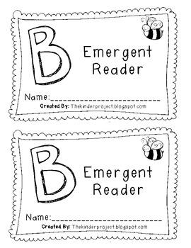 Letter B Emergent Reader