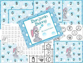 Letter B Fun w/ Benjamin Bunny