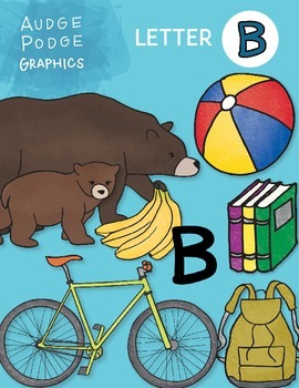 Letter B Graphics