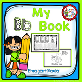 "Letter B ""I can read"" booklet for letter recognition, rhyming, and more."