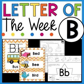 Letter B - Letter of the Week B - Letter of the Day B