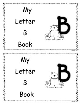 Letter B Little Reader/Book