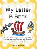 Letter B Little Sight Word Reader