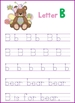 Letter B - © Love Letters - A Phonics/Reading Program