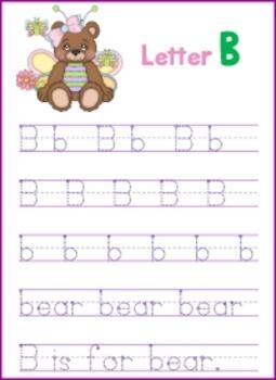 Letter B - © Love Letters - A Phonics/Reading Program