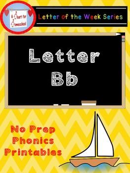 Letter B No Prep Printables