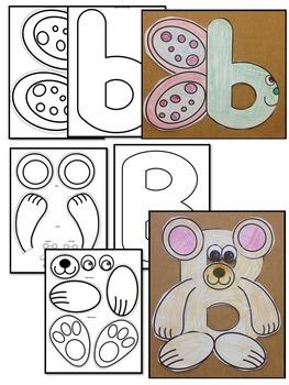 Pre-KG Alphabet Worksheets- LETTER Bb Printables- Tracing, coloring, recognition