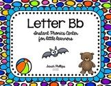 Letter B Phonics Center