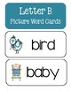 Letter B ~ Picture Word Cards
