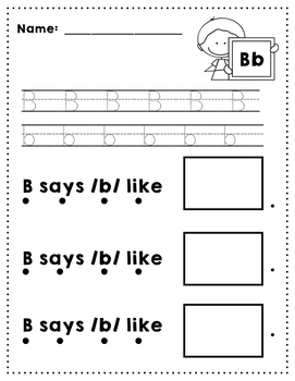 Letter B Review