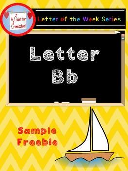 Letter B Sample Freebie