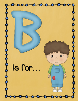Letter B Story and Writing Practice