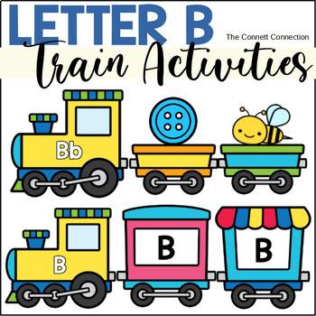 Letter B Train