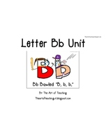 Letter B Unit-Alphabet Unit