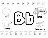 Letter B Worksheets!