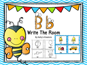Letter B Write The Room