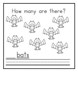 Letter B  Counting Books