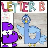 Letter B craft   Alphabet crafts   Lowercase letter craft