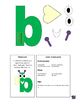 Letter B cutout craft