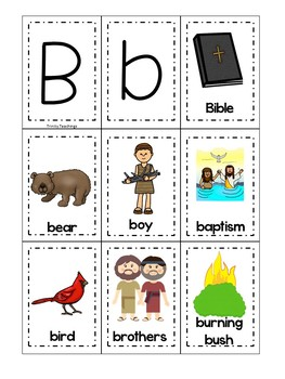 Letter B is for Bible. Bible Letter of the Week.