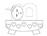 Letter B is for baby craft - Bricolage Lettre B pour bébé