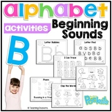 Letter B Phonics Letter of The Week Toddlers Preschool Act