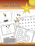 Letter Bb (B is for Bears): Letter Zoo- Preschool Curriculum