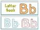 Letter Bb Binder Book