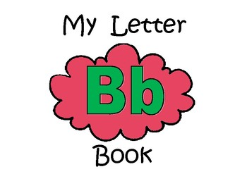 Letter Bb Book