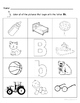Letter Bb Words Coloring Worksheet