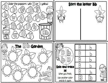 Letter Bb- Interactive Activities Booklet