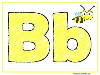 Letter Bb Learning Pack For PreK Kids