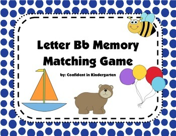 Letter Bb Memory Game