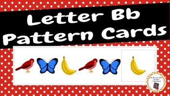 Patterns: Letter Bb Pattern Cards