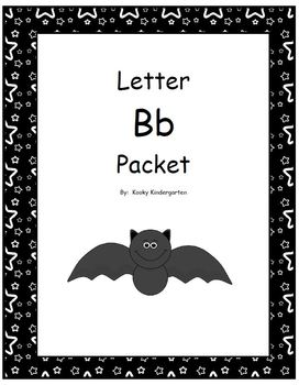 Letter Bb Phonics and Writing Pack