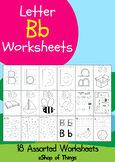 Letter Bb Worksheets Coloring Tracing Phonics Alphabet Dab letter Find letter
