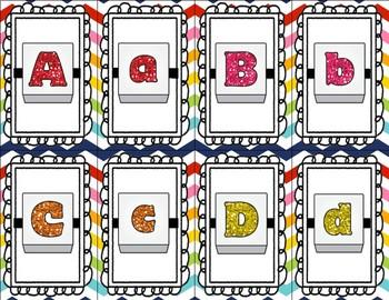 Letter Bead Alphabet Cards