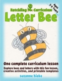 Letter Bee Mini-lesson: Alphabet and Bee Activities - US V