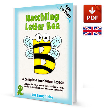 Letter Bee Mini-lesson: Alphabet and Bee Activities - UK Version (A4)