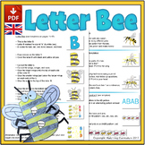 Letter Bee Mini-lesson: Alphabet and Bee Activities - UK V