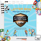Letter Bids Everyday Activities