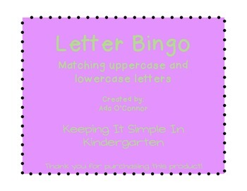 graphic about Letter Bingo Printable named Letter Bingo