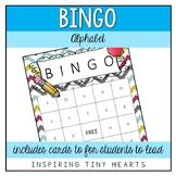 Alphabet / Letter Bingo