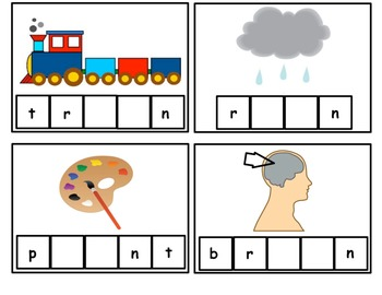 Letter Blends Fill in the Blank